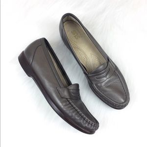 SAS Shoes - SAS Leather Moccasin Loafer Size 8.5